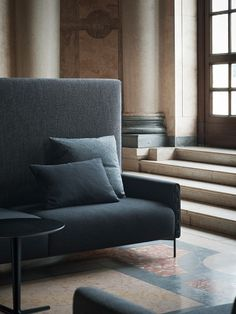 UPHOLSTERED HIGH-BACK SOFA HIGHLIFE COLLECTION BY TACCHINI ITALIA FORNITURE |