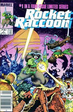 Rocket Raccoon (1985) 1