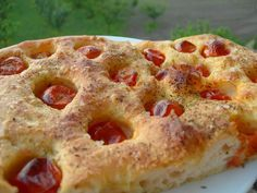 focaccia (typical products of Puglia) I Love Food, Good Food, Yummy Food, Fun Food, Delicious Recipes, Pizza E Pasta, My Favorite Food, Favorite Recipes, Buffet