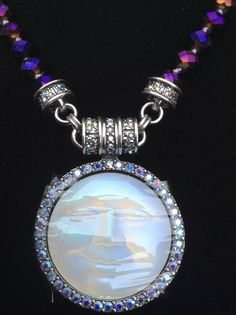 Kirks Folly Seaview Moon Interchangeable Magnetic Pendant Necklace BNWT BNIB NR! #KirksFolly #PendantNecklace