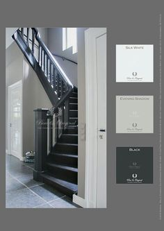 Ideas For Living Room Grey Walls Staircases Room Paint Colors, Interior Paint Colors, Paint Colors For Home, Black Interior Design, Interior Design Living Room, Living Room Designs, Living Room Paint, Living Room Grey, Living Rooms