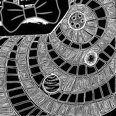 provocative-planet-pics-please.tumblr.com  #space #spaceart #cosmic #cosmos #comission #blackpenart #fineline #planets #penart #detail #doodle #darkart #zenart #zendoodle #zentangle #artist #artlife #illustrator #illustration #bow #pretty #galaxyart #galaxydoodle by 13thart https://www.instagram.com/p/_W_9HNgMqg/