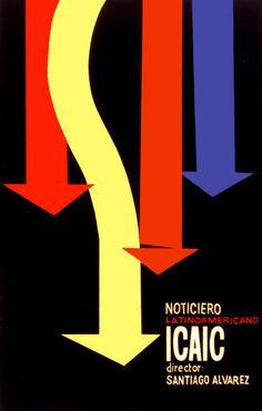 Noticiero LatinoAmericano ICAIC #Cuban #Movie #Poster