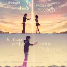 Anime: Dein Name - Trend Home - Trending Pins Naruto Quotes, Sad Anime Quotes, Manga Quotes, Your Name Movie, Your Name Anime, Sad Anime Girl, Anime Life, Cool Anime Pictures, Sad Pictures