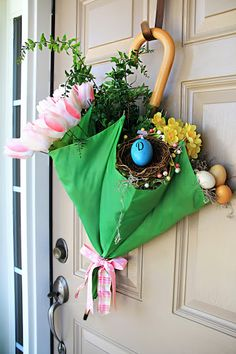 Door Decor-Cute for St. Patricks Day and Easter ♥