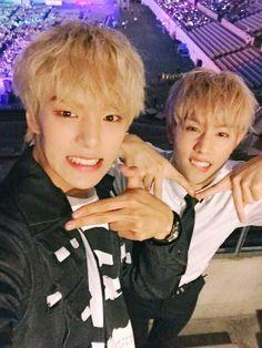 Mark with Minhyuk monsta x