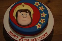 Fireman Sam cake by Kingfisher Cakes, via Flickr