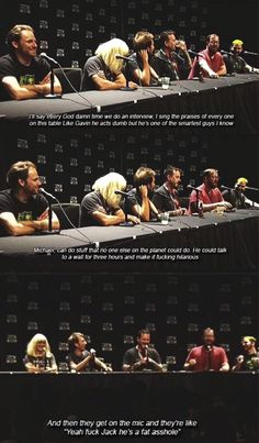 RTX 2016 AH panel, Jack talks about his appreciation for Michael Jones and Gavin Free