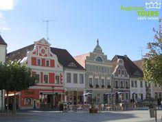 Marktplatz in Cottbus © AugustusTours auf https://www.augustustours.de/de/radreisen/spreeradweg.html