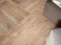 Medium Mixed Direction Wooden Floor Tiles