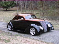 37 Ford 5 Window Coupe