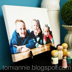 Easy Canvas Prints -- I have to do this - maybe for Christmas presents?!