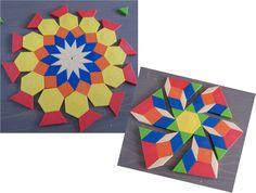 Apprendre à éduquer : Les attrimaths, un jeu de patience, d'adresse et d'initiation à la géométrie