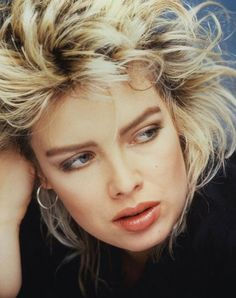 "Kim Wilde (born: November 18, 1960, Chiswick, London, United Kingdom) is an English pop singer, author, DJ and television presenter. She burst into the music scene in the 80's. She broke through with her debut single ""Kids In America (1981), "", which reached number two in the UK."