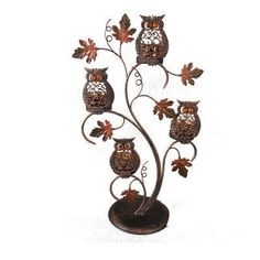 Celebrate It® Owl Tealight Holder, large Fall Owl, Funny Owls, Michaels Craft, Owl Always Love You, Harvest Decorations, Owl Bird, Baby Owls, Fall Harvest, Autumn Inspiration