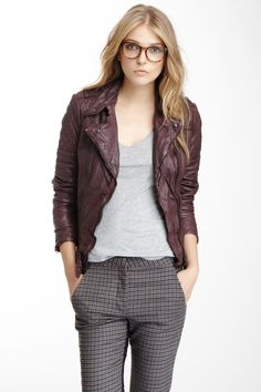 Minsk Quilted Leather Jacket (more colors) Love it!