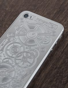 Engraved metal iphone - Luxe Plates