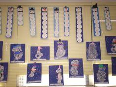 kindergarten winter art projects - Google Search