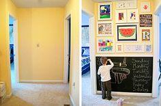 kokokoKIDS: Displaying Kids Art and Storage Ideas. Dozens of ideas on displaying art, memories, quotes, etc. great collection of inspiration