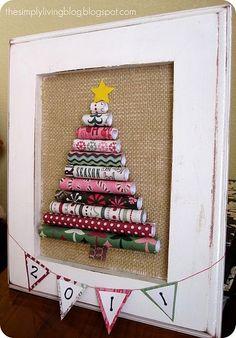Cute paper tree craft! by Mudgey
