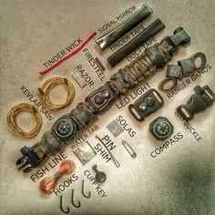 The EDC Prepper Bracelet