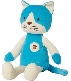 My Natural Plush Toy Blue Cat *** Click on the image for additional details.