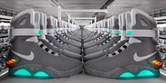 MTV Geek – 1500 Pairs of Marty McFly's Nike MAG Sneakers From ...