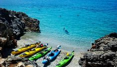 Ecology, Kayaking, Diving, Beaches, Greece, Holidays, Activities, Vacation, Crystals