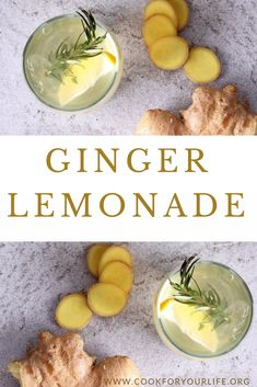 Let this Ginger Lemonade excite your taste buds while providing you lots of healthy benefits! Ginger and lemon are full of antioxidants and vitamins. Healthy Juice Recipes, Juicer Recipes, Healthy Juices, Raw Food Recipes, Healthy Eats, Ginger Lemonade, Food Lab, Fresh Ginger, Raw Vegan