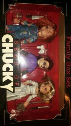 Seed of Chucky Family Box Set Unopened