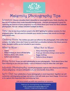 Maternity Photography Tips  Risinglotusphotography.con