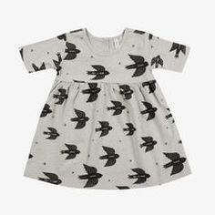 Rylee & Cru / Swallows Dress / Dove