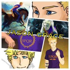 Jason Grace collage