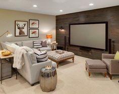 271 best decorate basement images in 2019 basement house rh pinterest com