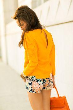 Happy Colors :: Floral shorts