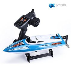 High-Speed-Remote-Control-Boat-Super-fast-and-easy-to-use-Built-in-Water-Cooling-System-and-Auto-Safe-Mode-Equipped-w-24GHz-RC-Boat-Technology