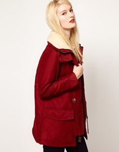 Sessun Julie and Candy Parka with Fleece Collar