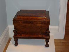 American Empire wine chest