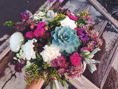 Succelent bouquet