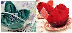 Ideas para la mesa: cómo doblar servilletas III