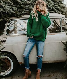 Casual Winter Outfits, Winter Fashion Outfits, Look Fashion, Autumn Winter Fashion, Womens Fashion Outfits, Winter Sweater Outfits, Winter Outfits Women, Casual College Fashion, Women's Casual Fashion