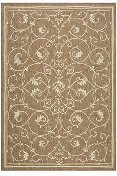 Tendril Area Rug - Outdoor Rugs - All Weather Rugs - Rugs | HomeDecorators.com