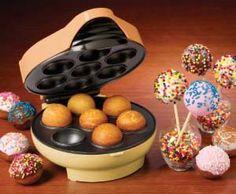 Cake Pops maker. I want!