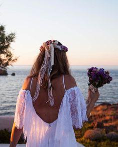 Ένας ακόμα όμορφος καλοκαιρινός γάμος με νυφικό Novia Bella ❤️❤️ Brides, Hair Styles, Beauty, Beleza, Hairdos, Bride, Haircut Styles, Hairstyles, Bridal