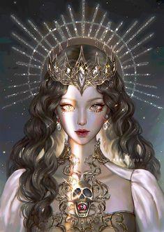 Mystic Messenger Characters, Goddess Art, Aphrodite Goddess, Goddess Tattoo, Zodiac Art, Zodiac Signs, Handsome Anime Guys, Digital Art Girl, Fantasy Character Design