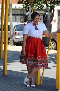 Bow Afrika Fashion on Facebook. They stay winning. Plus Size Style.