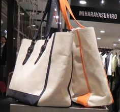 japanese bag stores and handbags - clean men's tote for summer