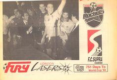 Canadian Soccer League Newspaper, bottom half, 1992 World Cup 94, Soccer League, Newspaper, Vancouver