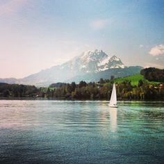 See Vierwaldstättersee (Lake Lucerne) in Luzern