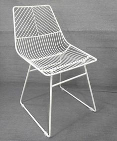Sive Indoor Chair Replica Bend Wire Dining Chairs White